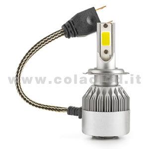 H7 3800LM KIT LED 1 LAMPADA 36W CON DIODI SCELTI KIT LED H7