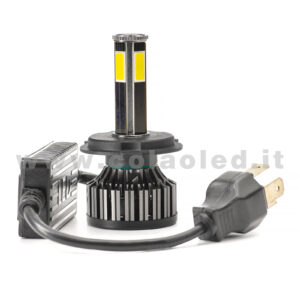 H4 4800LM KIT LED 1 LAMPADA STAR 48W POWER KIT LED 4 LED H4
