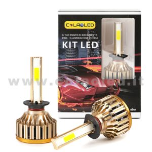 H1  9600LM KIT LED 2 LAMPADE  STAR 96W POWER KIT LED H1