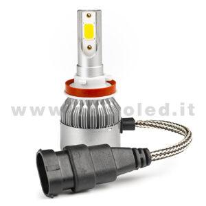 H11 3800LM KIT LED 1 LAMPADA 36W CON DIODI SCELTI KIT LED H11
