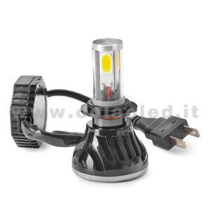 H7 CANBUS KIT LED 1 LAMPADA 4000LM  SCELTA POWER 40W CON TRASFORMATORI CANBUS H7