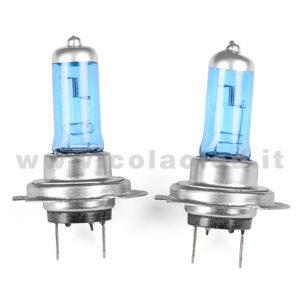 H7 2 LAMPADE ALOGENO BIANCO 12V 55W H7