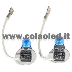 H3 2 LAMPADE ALOGENO BIANCO 12V 55W H3