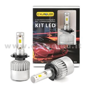 H7 16000LM KIT LED 2 LAMPADE CHIP EXTRA CREE POWER KIT LED 80W H7