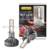 H1 10°000LM KIT LED 2 LAMPADE LED CREE 90W BIANCO FREDDO MINI TURBO LED H1