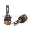 Hb3 9005 12000LM KIT LED 2 LAMPADE ULTRA PICCOLO 100W KIT LED COLAOLED PROGETTO MICRO POWER Hb3