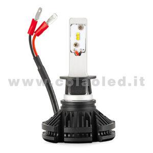 H1 6000LM  KIT LED 1 LAMPADA 50W DISSIPAZIONE LAMELLE LED CREE KIT LED H1