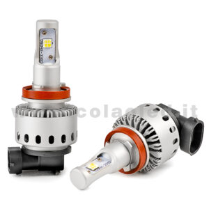 H11 16000LM KIT LED 2 LAMPADE CHIP CREE KIT LED ULTIMA TECNOLOGIA 80W H11