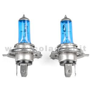 H4 2 LAMPADE ALOGENO BIANCO 12V 55W H4