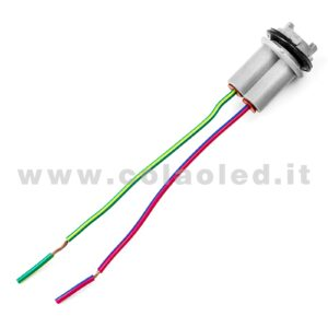 T15 1 CONNETTORE PORTA LAMPADE ALLOGGI W16W