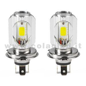 H4 3600LM KIT LED 2 LAMPADE 36W LED H4
