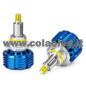 HB3 9005 15000LM KIT LED MONO LED 2 LAMPADE CHIP EXTRA POWER KIT LED 3D 120W HB3