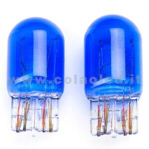 T20 7443 COPPIA LAMPADINE ALOGENE BIANCHE T20