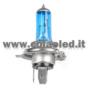 H4 1 LAMPADA ALOGENO BIANCO 12V 55W H4