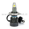 H4 6500LM MONOLED KIT LED 1 LAMPADA LED 55W BIANCO LATTE PROGETTO SUPER MICRO LED H4