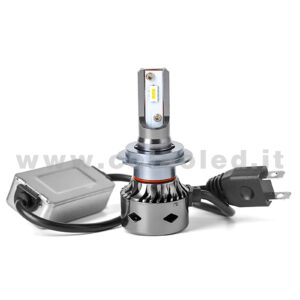 H7 CANBUS 3°000LM KIT LED 1 LAMPADA LED CREE 36W BIANCO FREDDO TURBO SLIM LED H7