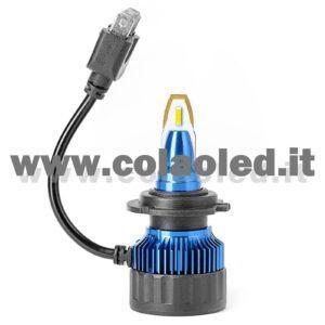 H7 5°500LM KIT LED 1 LAMPADA LED CREE  47W BIANCO FREDDO PROGETTO SUPER MICRO LED H7