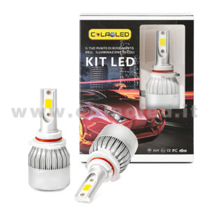 Hb3 9005 7600LM KIT LED 2 LAMPADE 72W CON DIODI SCELTI KIT LED Hb3